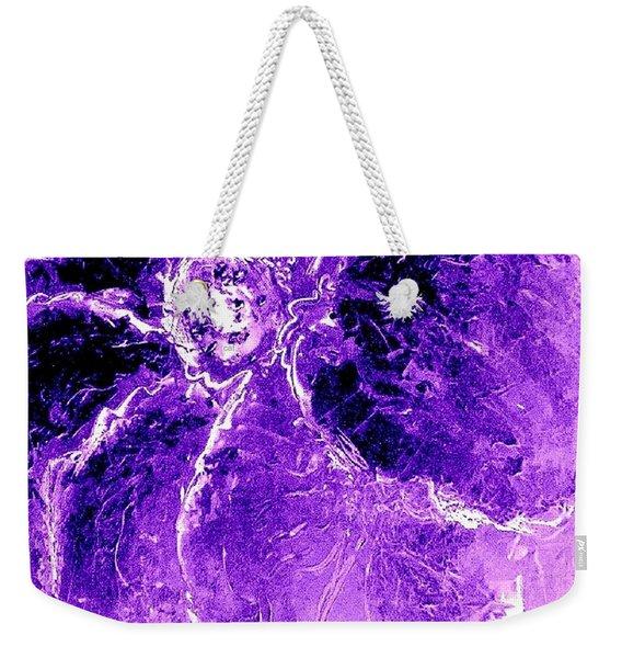 Wild Thing Purple Weekender Tote Bag