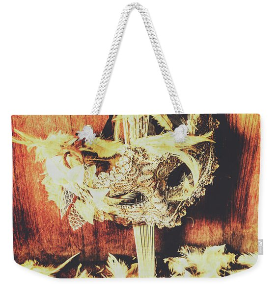Wild West Saloon Dancer Still Life Weekender Tote Bag