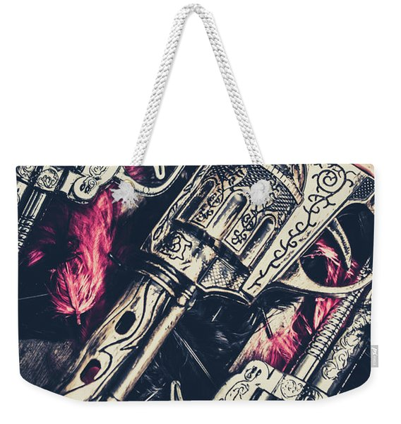 Wild West Weapons  Weekender Tote Bag