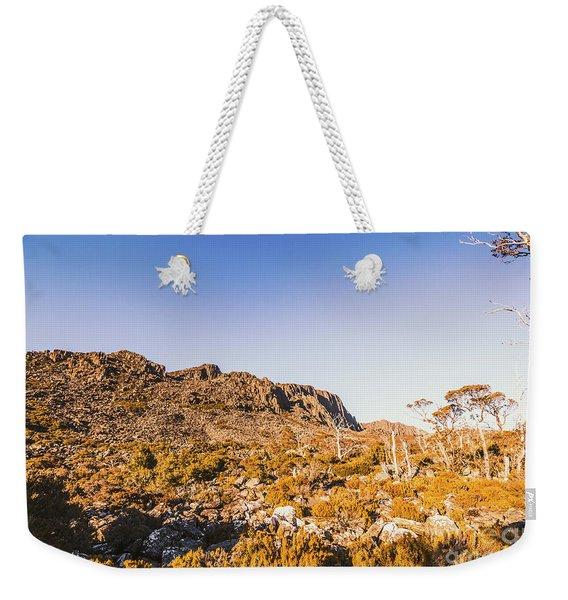 Wild Wilderness Of Stone Geology Weekender Tote Bag