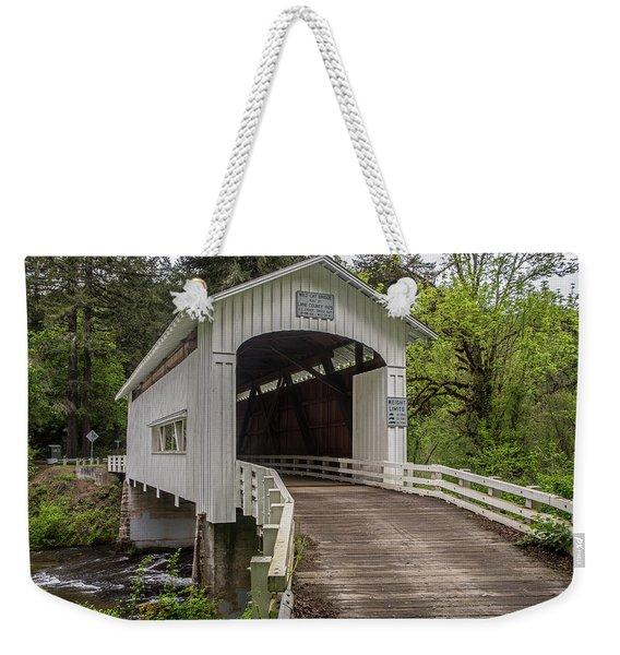 Wildcat Creek Bridge No. 1 Weekender Tote Bag