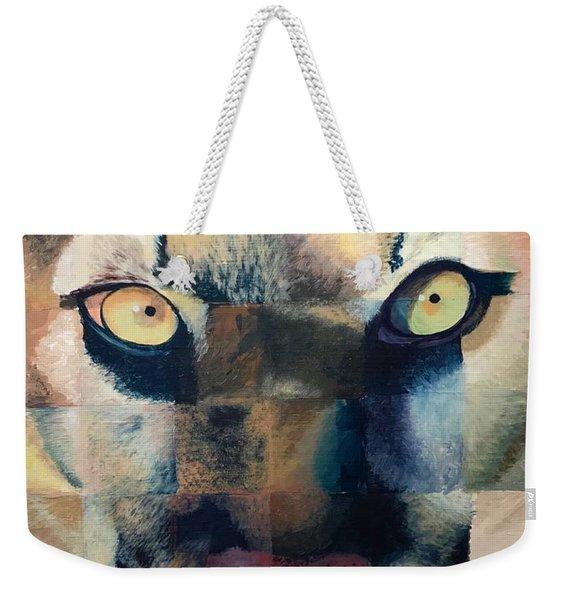 Wildcat Weekender Tote Bag