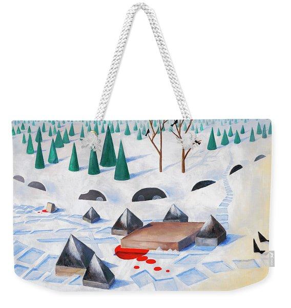 Wilderness Perception Weekender Tote Bag