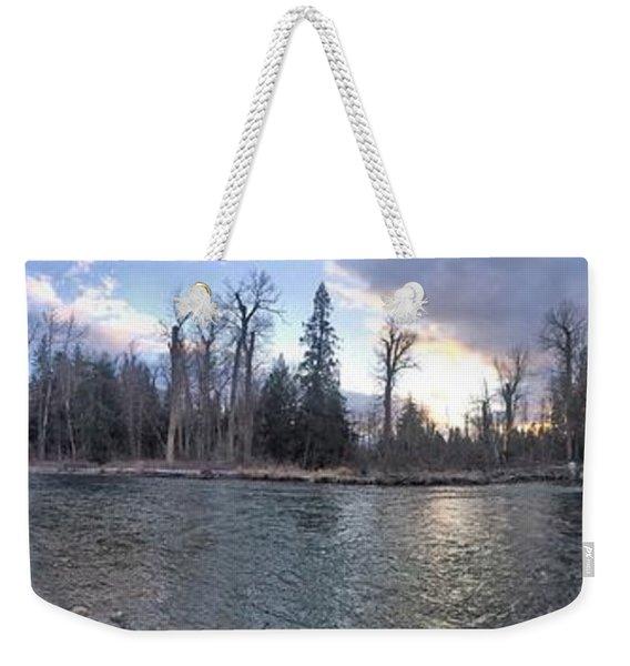 Wilderness Weekender Tote Bag