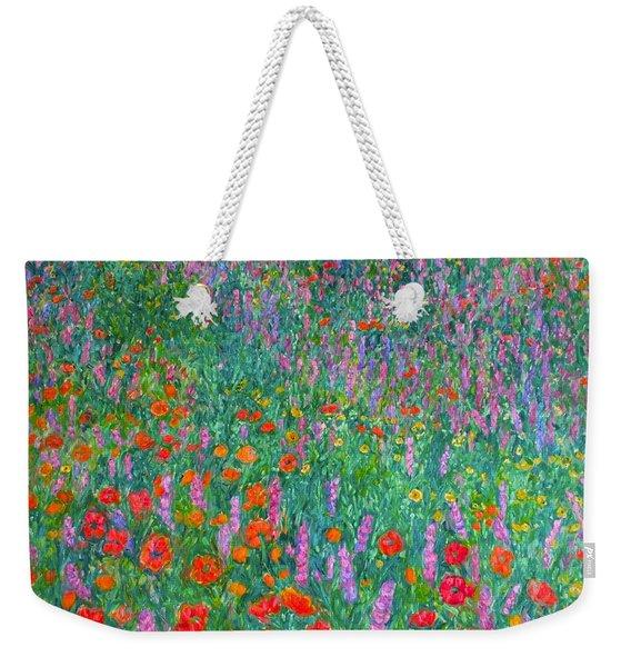 Wildflower Current Weekender Tote Bag