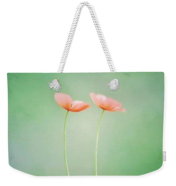 Wildflower Duet Weekender Tote Bag