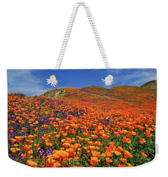 Wildflower Jackpot Weekender Tote Bag