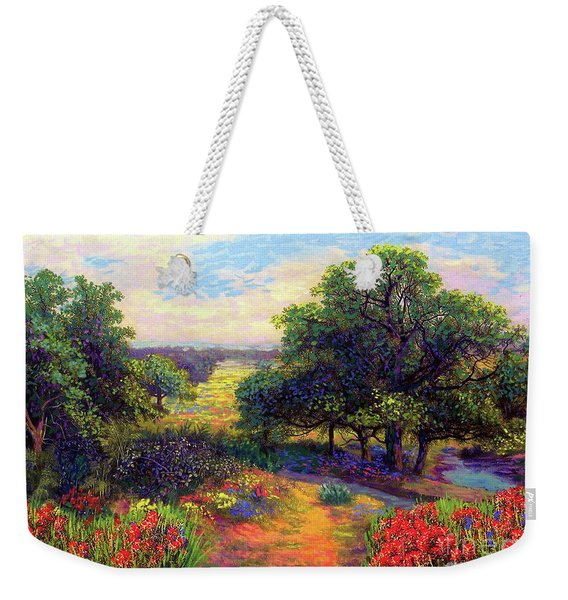 Wildflower Meadows Of Color And Joy Weekender Tote Bag