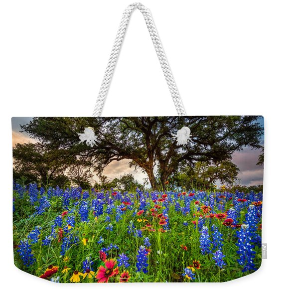 Wildflower Tree Weekender Tote Bag