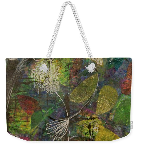 Wildflower Two Weekender Tote Bag