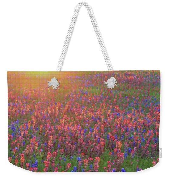 Wildflowers In Texas Weekender Tote Bag