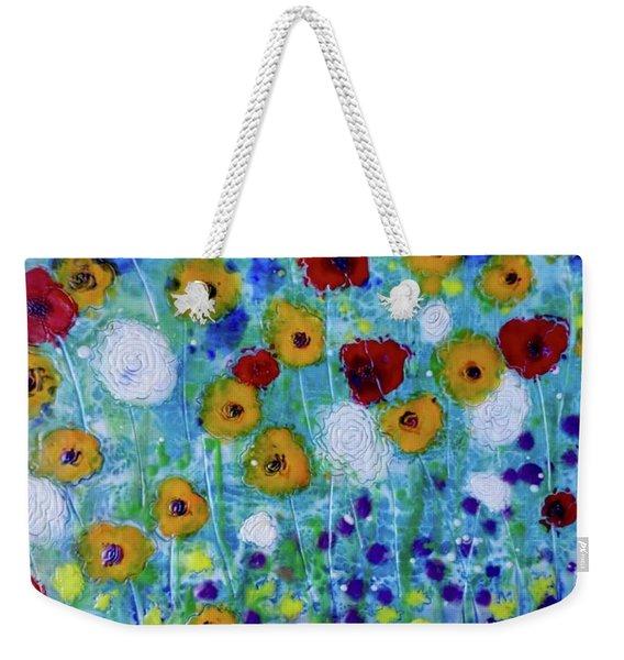 Wildflowers Never Fade Weekender Tote Bag