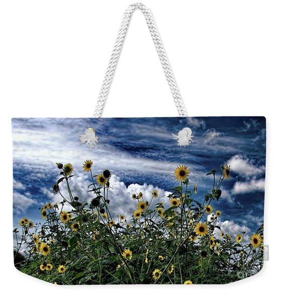Wildflowers On The Brazos Weekender Tote Bag