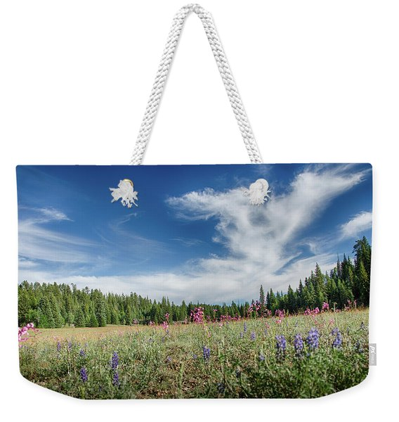 Wildflowers Reach For The Sky Weekender Tote Bag
