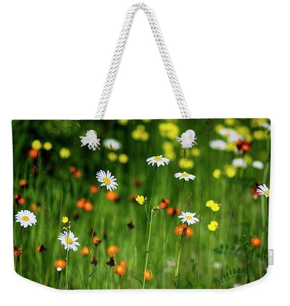 Wildflowers2 Weekender Tote Bag