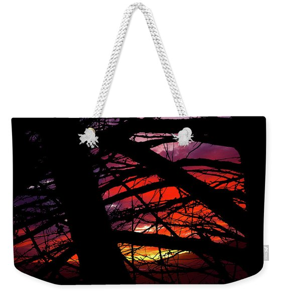 Wildlight Weekender Tote Bag