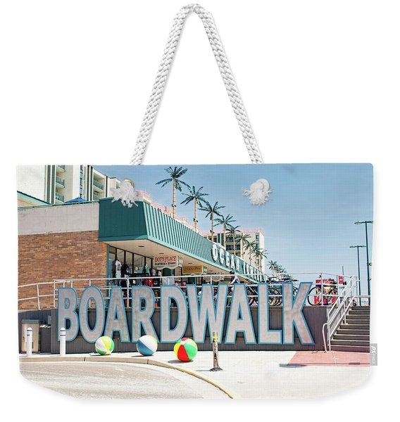 Wildwood Boardwalk Weekender Tote Bag