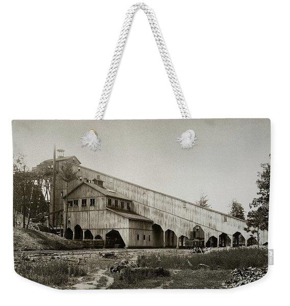 Wilkes Barre Twp Pa Empire Number 5 Coal Breaker 1880 Lehigh And Wb Coal Co. Weekender Tote Bag