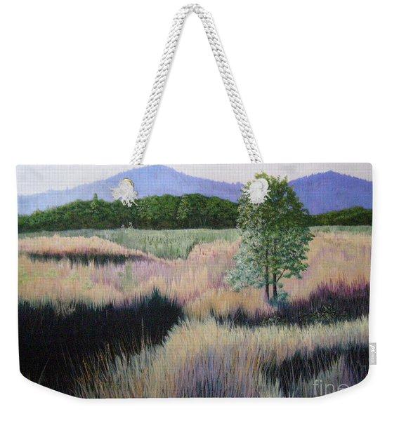 Willamette Evening Shadows Weekender Tote Bag