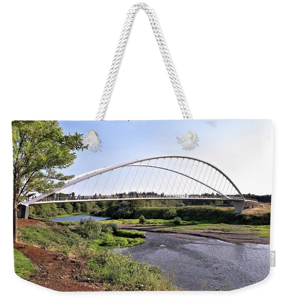 Willamette Pedestrian Bridge Weekender Tote Bag