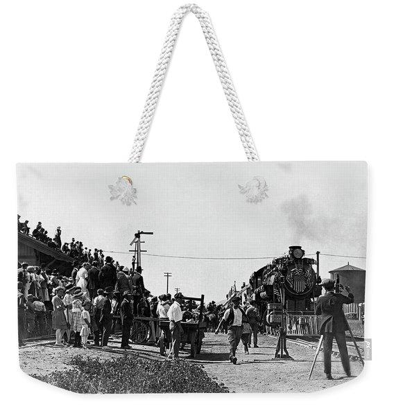 William Hart Film Weekender Tote Bag