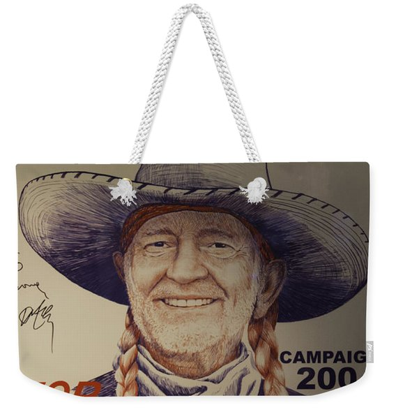 Willie For President Weekender Tote Bag