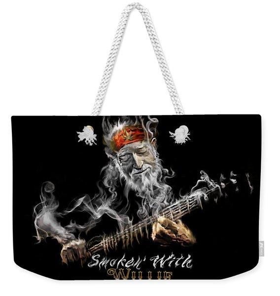 Willie Smoken' Weekender Tote Bag