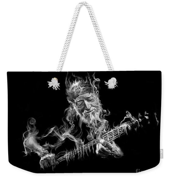 Willie - Up In Smoke Weekender Tote Bag