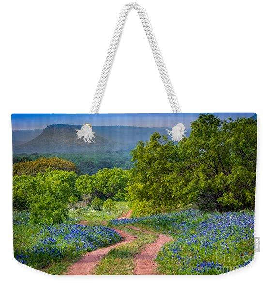 Willow City Road Weekender Tote Bag