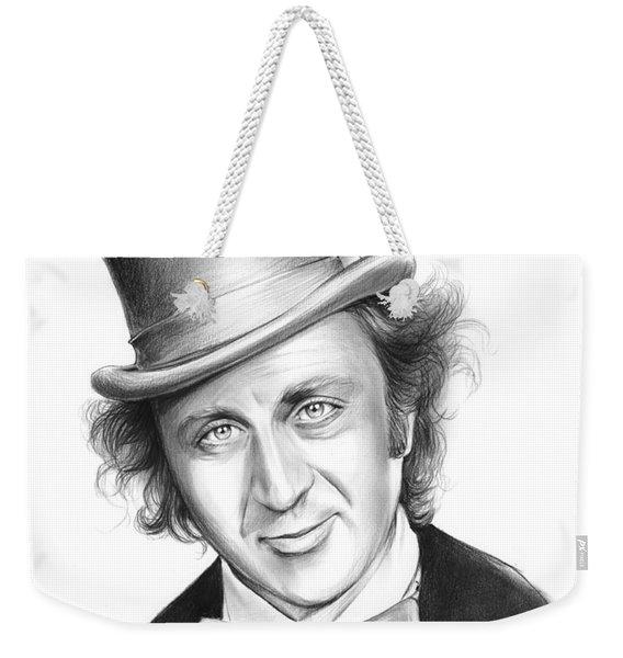 Willy Wonka Weekender Tote Bag