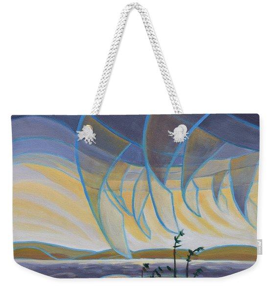 Wind And Rain Weekender Tote Bag
