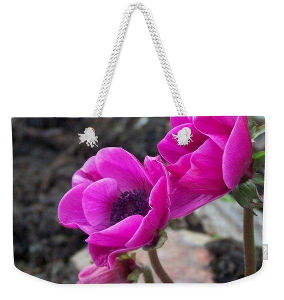 Wind Flower Weekender Tote Bag