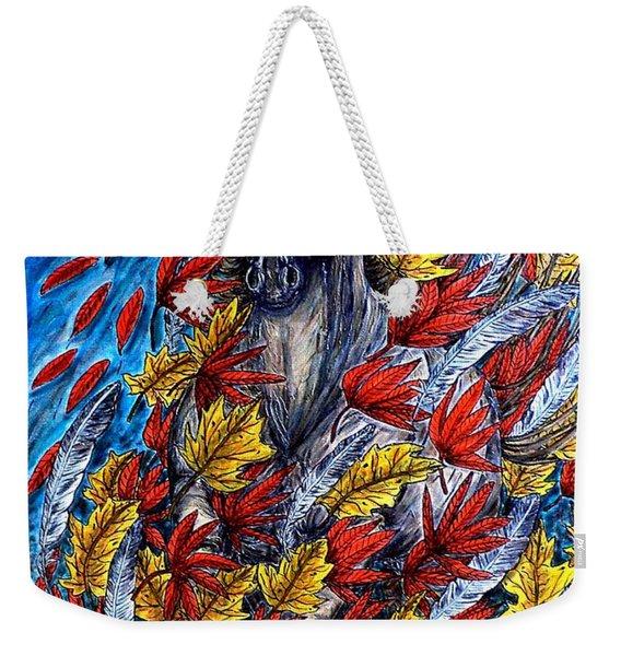 Wind Spirit Weekender Tote Bag
