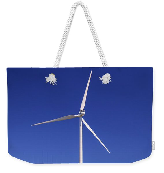 Wind Turbine Weekender Tote Bag