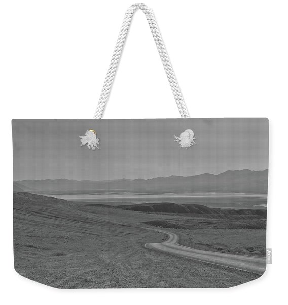 Weekender Tote Bag featuring the photograph Winding Road, Death Valley, California by Frank DiMarco