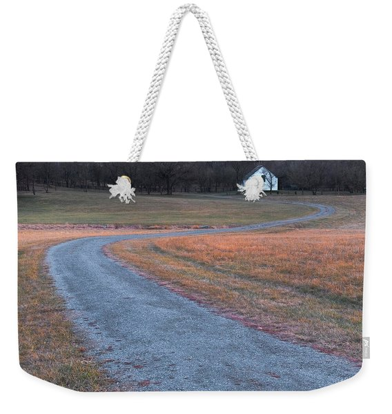 Winding Road Weekender Tote Bag