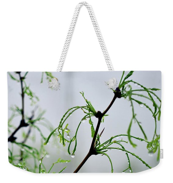 Windmill In The Mist Weekender Tote Bag