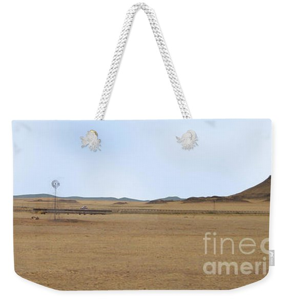 Windmill On The Colorado Range Weekender Tote Bag