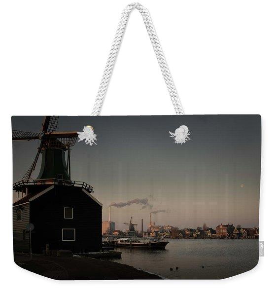 Windmill Town Weekender Tote Bag
