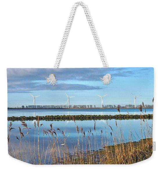 Windmills On A Windless Morning Weekender Tote Bag