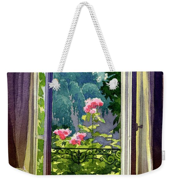 Window At Clermont Weekender Tote Bag