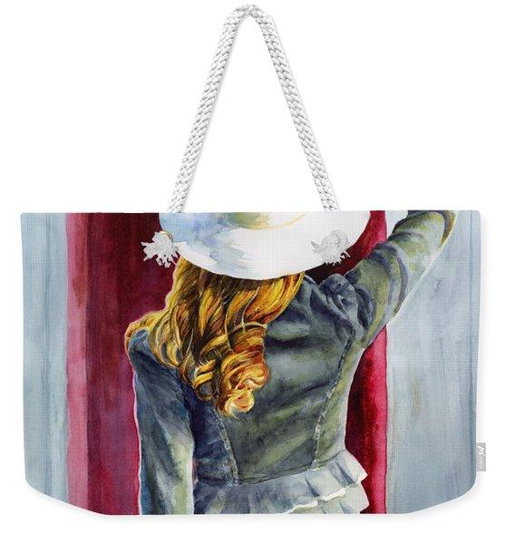 Window Of Time Weekender Tote Bag