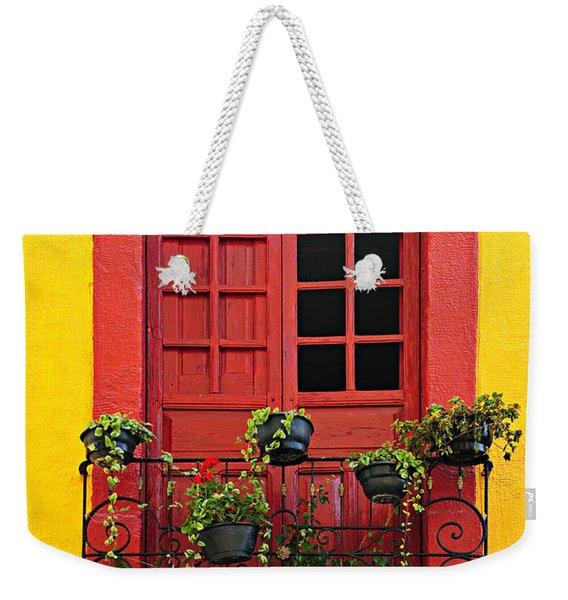 Window On Mexican House Weekender Tote Bag