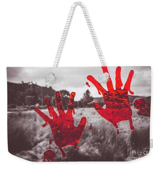 Window Pain Weekender Tote Bag