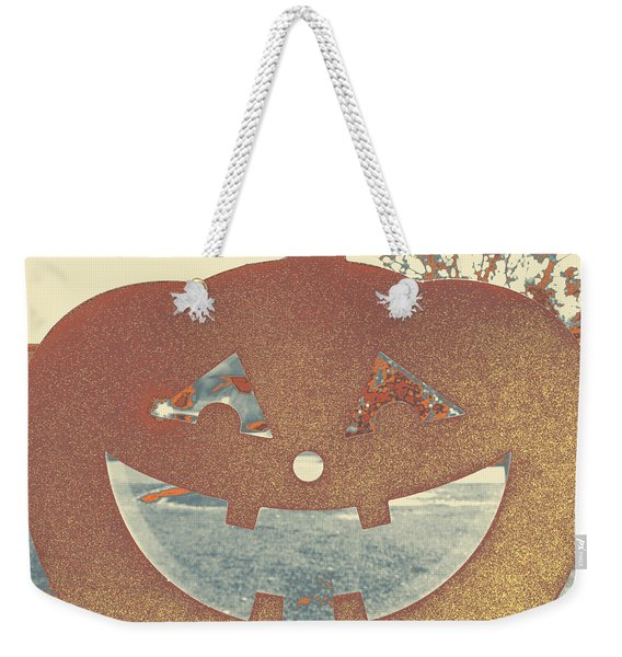 Window Pumpkin #1 Weekender Tote Bag