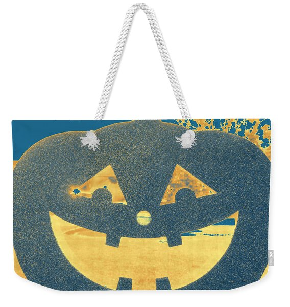 Window Pumpkin #2 Weekender Tote Bag
