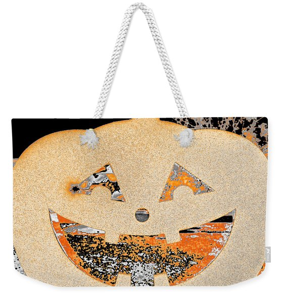 Window Pumpkin #3 Weekender Tote Bag