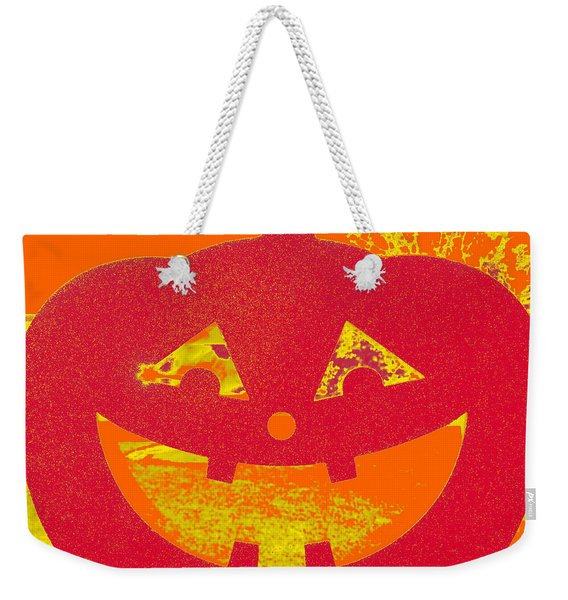 Window Pumpkin #4 Weekender Tote Bag