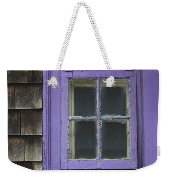 Purple Window - Window Series 04 Weekender Tote Bag