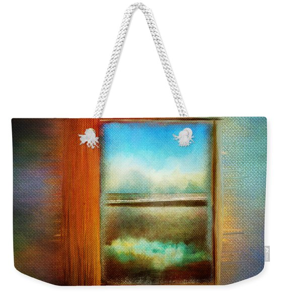 Window To Anywhere Weekender Tote Bag